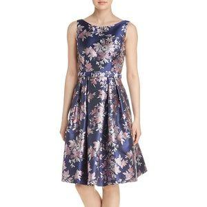Eliza J Jacquard Dress